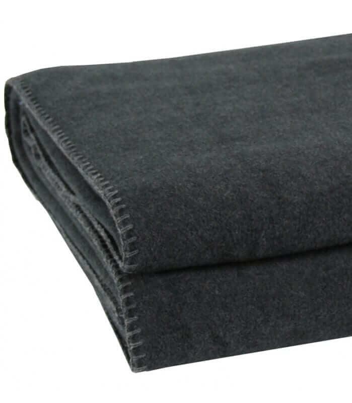 plaid anthracite 180 x 220 cm plaid addict vente en. Black Bedroom Furniture Sets. Home Design Ideas