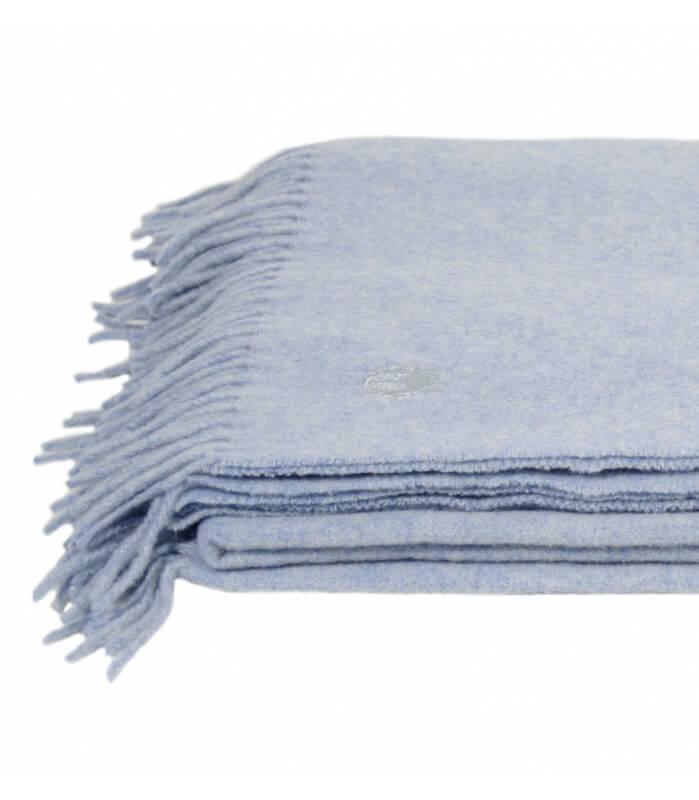 plaid laine bleu ciel must have plaid addict vente en ligne de plaids pure laine. Black Bedroom Furniture Sets. Home Design Ideas