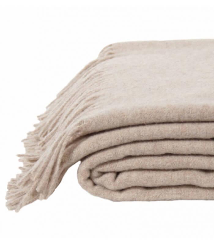 plaid laine beige must have plaid addict vente en ligne. Black Bedroom Furniture Sets. Home Design Ideas