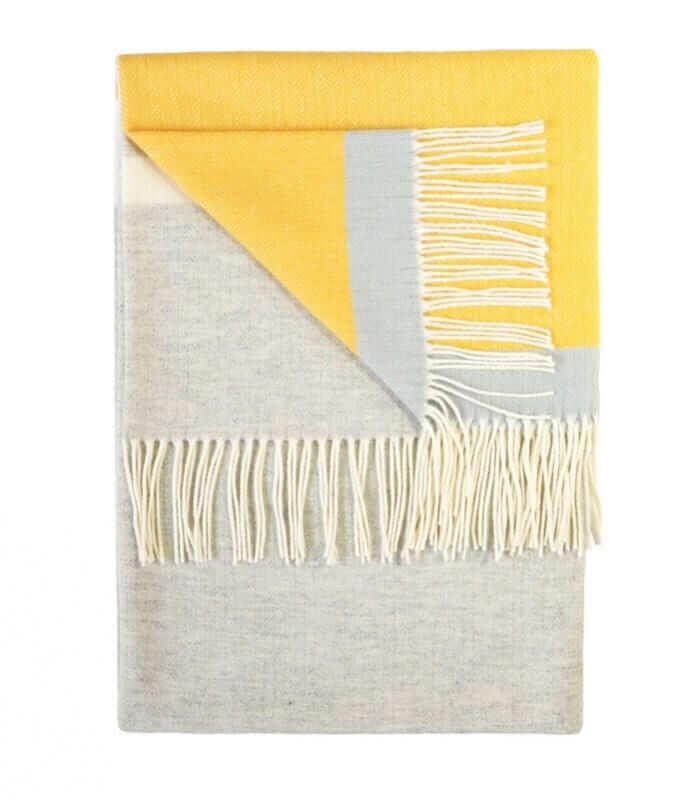 plaid laine rayures sulphur plaid addict vente en ligne de plaids twig. Black Bedroom Furniture Sets. Home Design Ideas
