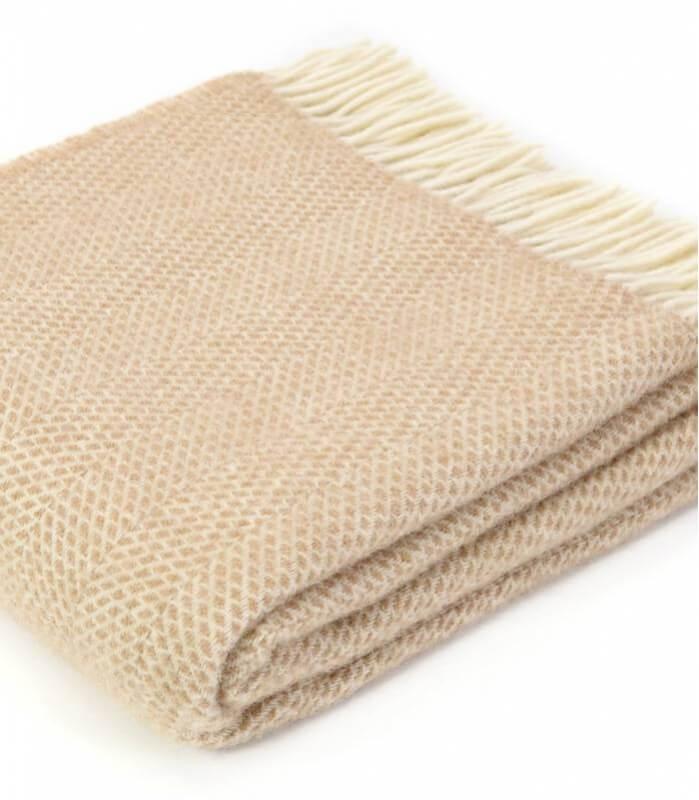 plaid laine beehive beige plaid addict vente en ligne de plaids tweed mill. Black Bedroom Furniture Sets. Home Design Ideas