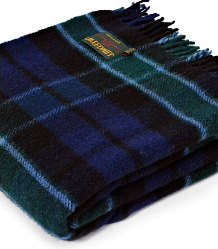 plaid laine cossais graham of menteith plaid addict vente en ligne de 50 100. Black Bedroom Furniture Sets. Home Design Ideas