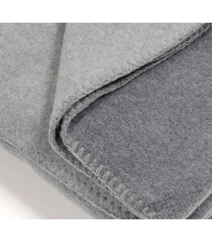 plaid gris 160 x 200 cm plaid addict vente en ligne de plaids gris. Black Bedroom Furniture Sets. Home Design Ideas
