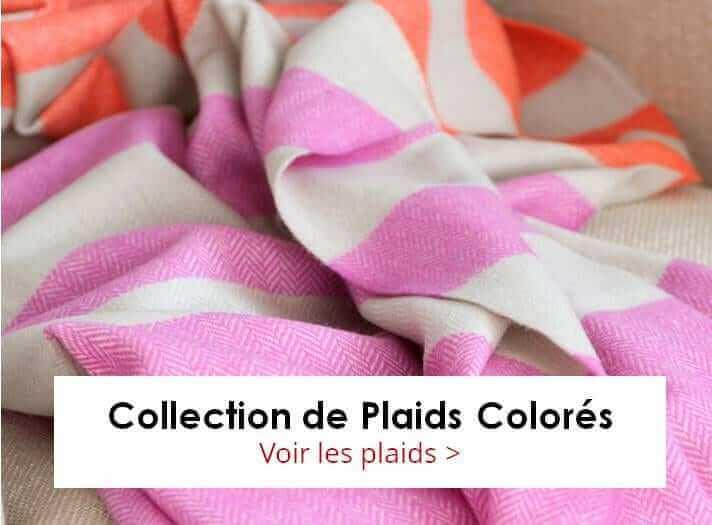 Collection de Plaids TWIG 100% pure laine