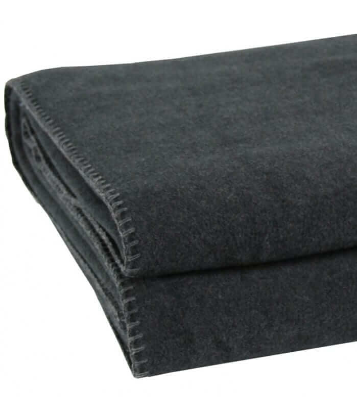Plaid Soft Fleece Gris Anthracite