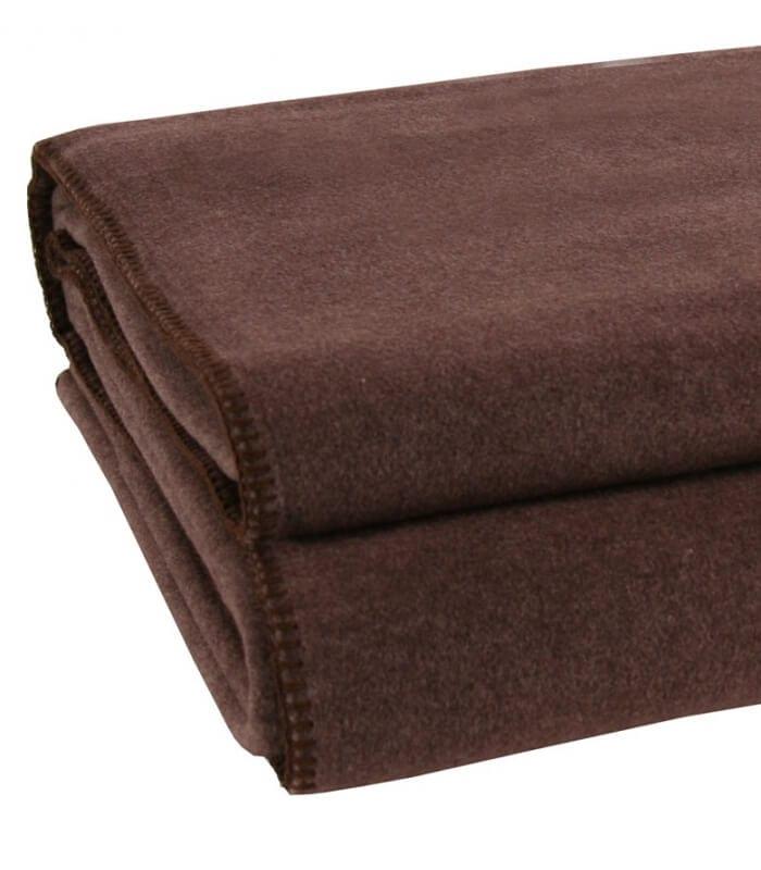 couverture polaire luxe marron 220 x 240 cm plaid addict vente en ligne de id es pour les enfants. Black Bedroom Furniture Sets. Home Design Ideas