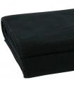 Plaid Polaire Luxe Noir 160 X 200 cm