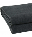 Couverture Polaire Luxe Anthracite 220 X 240 cm