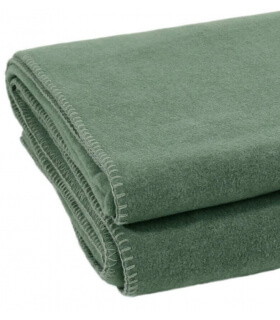 Plaid Soft Fleece Vert