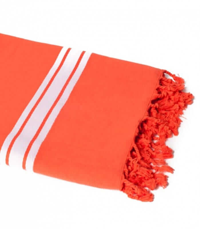 Serviette de Plage Orange 90 X 180 cm