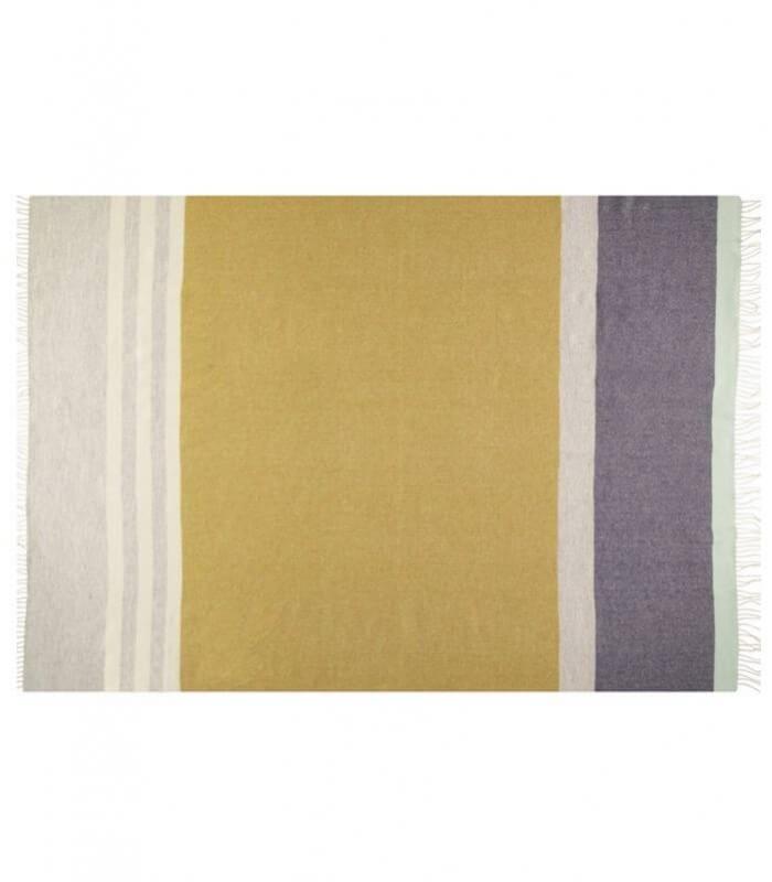 plaid pure laine eloise quinel plaid addict vente en ligne de 100 200. Black Bedroom Furniture Sets. Home Design Ideas