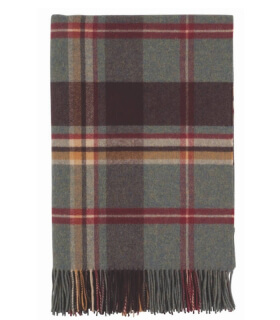 Plaid Pure Laine Écossais Fintray Check