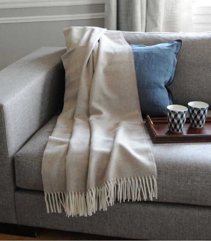 plaid laine alpaga luxe inca chic beige plaid addict vente en ligne de plaids cr mes. Black Bedroom Furniture Sets. Home Design Ideas