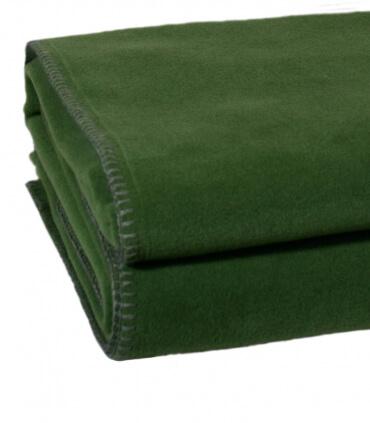 Plaid Polaire Luxe Vert foncé 180 X 220 cm