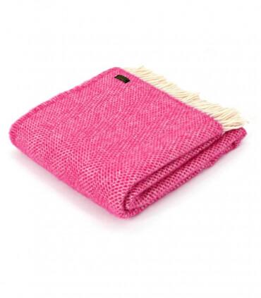 Plaid Laine Beehive Pink