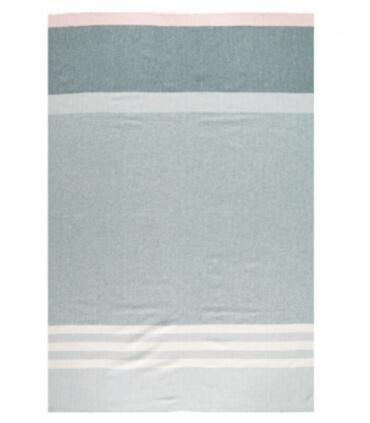 Plaid Pure Laine Eloise Topaz 150 X170 cm