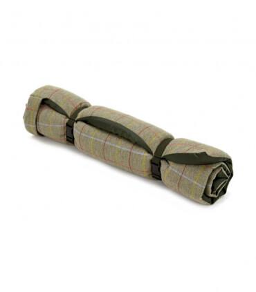Plaid pour Chien en tweed vert 98 X 72 cm