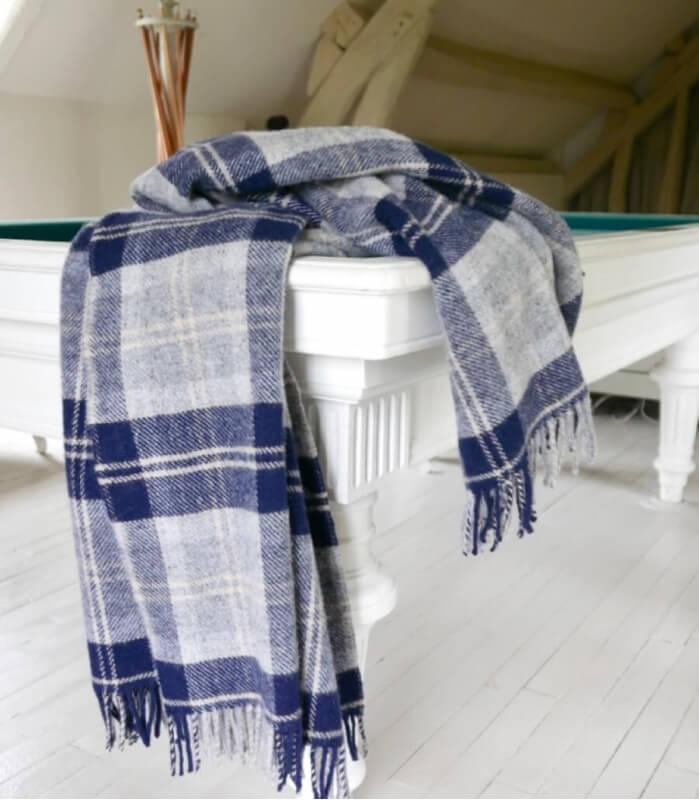 Plaid Pure Laine Écossais Bannockbane 150 X 183 cm