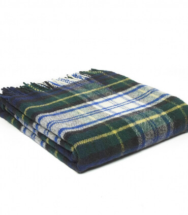 Plaid Laine Écossais Dress Gordon