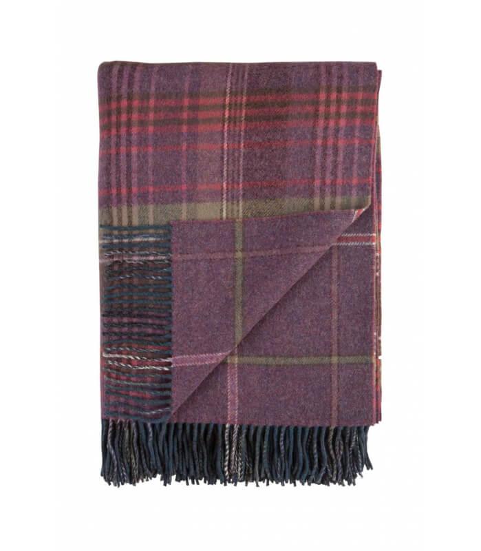 Plaid Scottish Heritage Mauve