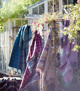 Plaid Scottish Heritage Mauve