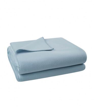 Plaid Bleu Ciel 110 X 150 cm