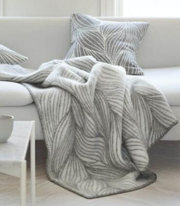 Plaid Pure Laine Design Scandinave 135 X 200 cm