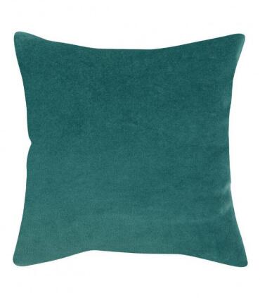 Lot de 2 Coussins en Velours ELISE Vert de Gris 45 X 45 cm