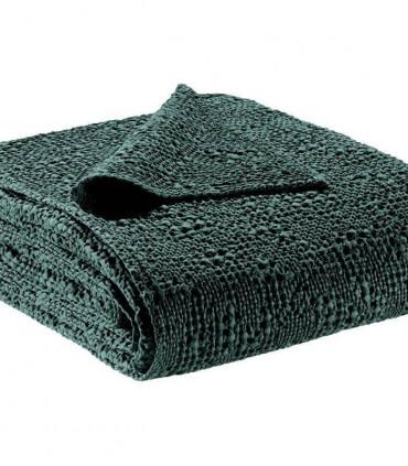 Jeté de canapé/ Couvre-lit 100% coton TANA Vert