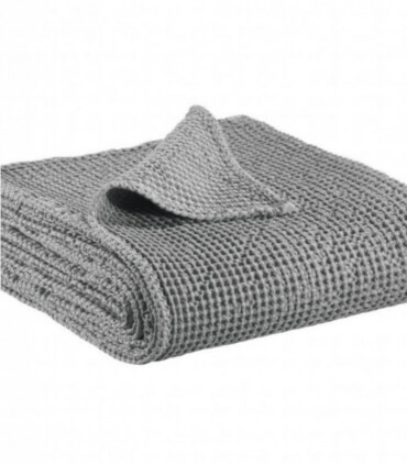Jeté de canapé/ Couvre-lit 100% coton Gris