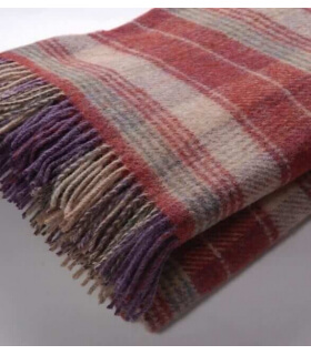 Plaid Huntingtower Bruyère