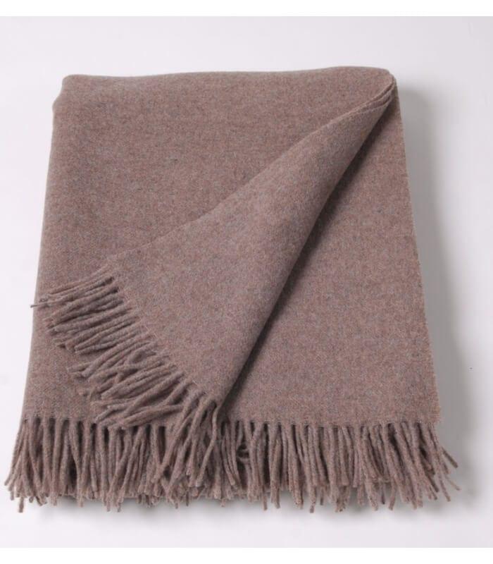 plaid laine noisette must have plaid addict vente en ligne de plaids pure laine. Black Bedroom Furniture Sets. Home Design Ideas