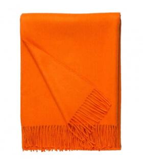 Plaid Laine Alpaga Luxe Paola Orange
