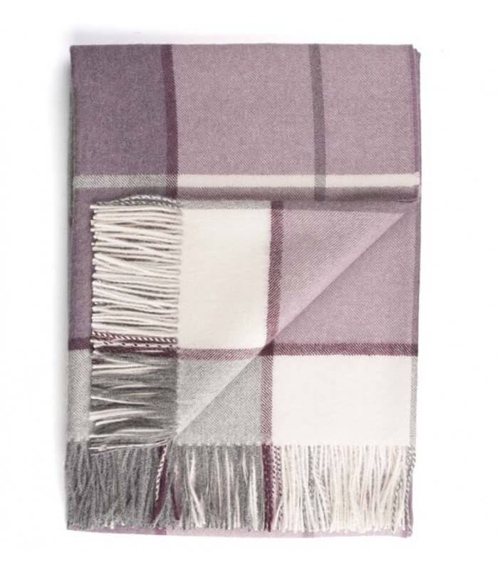 Plaid Hacienda Mauve