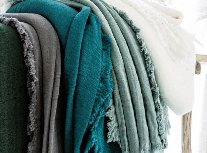 Collection Plaids Coton