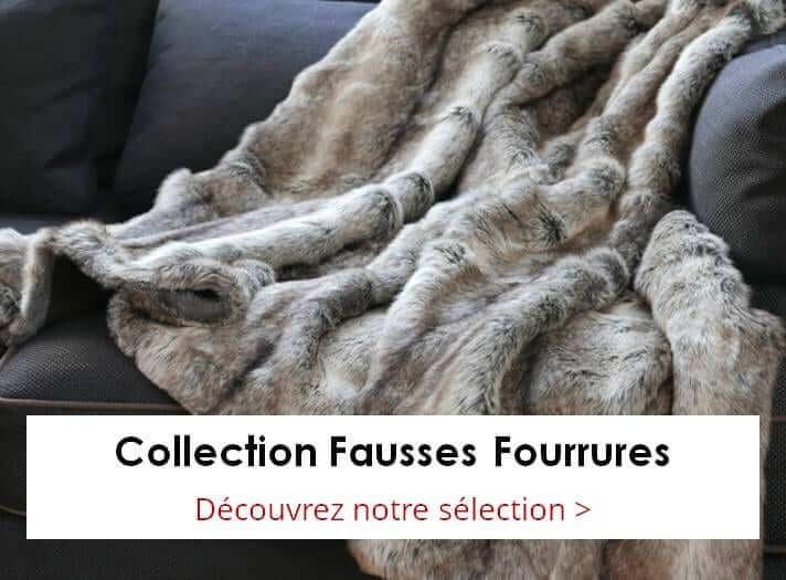 Plaids en Fausse Fourrure