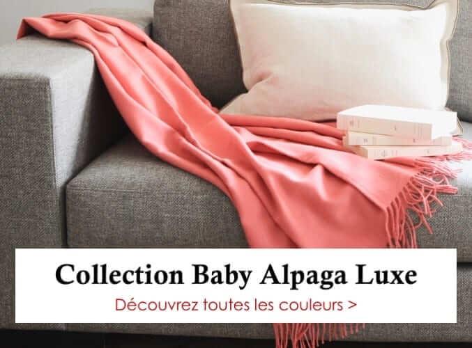 Collection Plaids en Alpaga Luxe