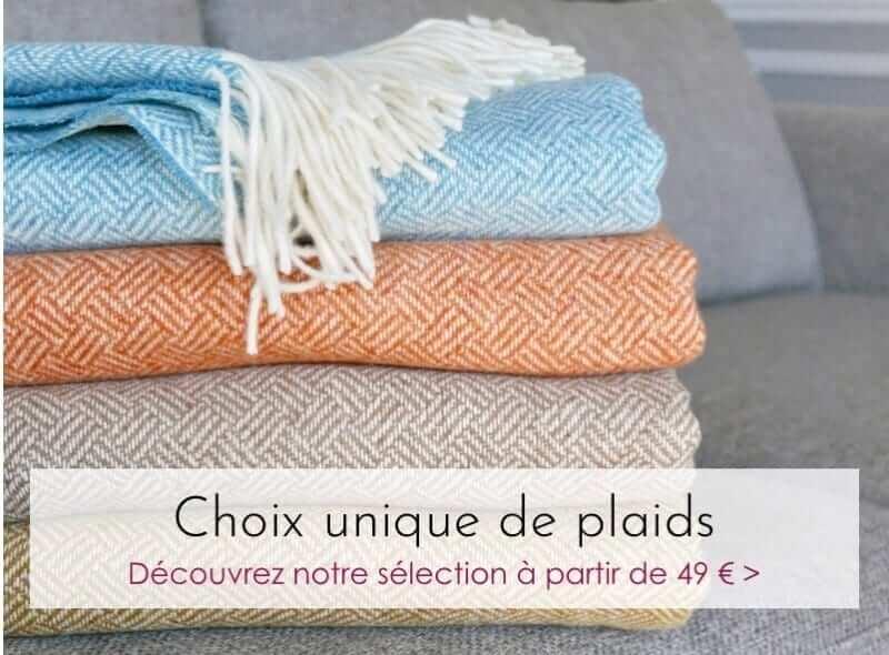 5bdeeffc8ec Plaid - Plaid addict   la boutique des plaids   pure laine