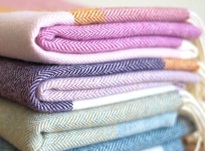 Collection Plaids Colorés
