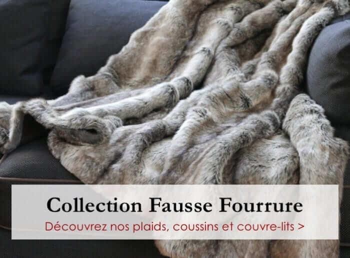 Collection Plaids Fausse Fourrure