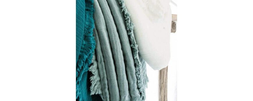 Plaid en coton: le chouchou de l'été