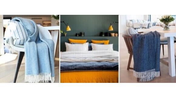 4 idées pour décorer un Airbnb avec un plaid